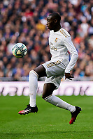Ferland Mendy of Real Madrid during La Liga match between Real Madrid and Atletico de Madrid at Santiago Bernabeu Stadium in Madrid, Spain. February 01, 2020. (ALTERPHOTOS/A. Perez Meca)<br /> 01/02/2020 <br /> Liga Spagna 2019/2020 <br /> Real Madrid - Atletico Madrid  <br /> Foto Alterphotos / Insidefoto <br /> ITALY ONLY