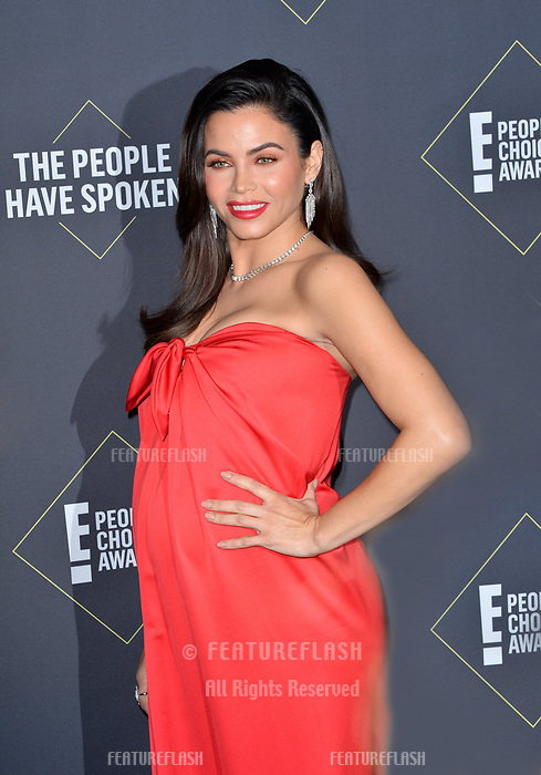 SANTA MONICA, USA. November 11, 2019: Jenna Dewan at the 2019 E! People's Choice Awards at Santa Monica Barker Hangar.<br /> Picture: Paul Smith/Featureflash