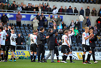 ATTENTION SPORTS PICTURE DESK<br /> Pictured: Paulo Sousa Manger of Swansea City in action<br /> Re: Coca Cola Championship, Swansea City Football Club v Newcastle United at the Liberty Stadium, Swansea, south Wales. 13 February 2010