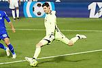 Real Madrid's Thibaut Courtois during La Liga match. April 18,2021. (ALTERPHOTOS/Acero)