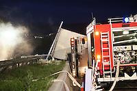 14.05.2014: Schwerer Unfall auf der A7 bei Bad Hersfeld mit 4700 Enten