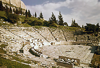 Greece: Acropolis--Odeon in foreground.