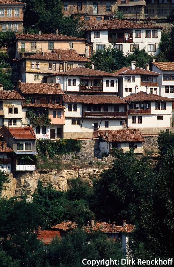 Bulgarien, Velico Tarnovo, Altstadt