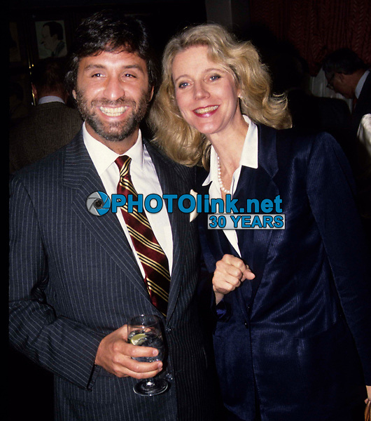 Ron Silver & Blythe Danner 1980s Photo by Adam Scull-PHOTOlink.net