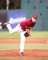 Jason Durst / Yakima Bears pitching against the Boise Hawks - Boise, ID - 08/27/2008..Photo by:  Bill Mitchell/Four Seam Images