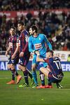 Sociedad Deportiva Eibar's left to the right Ander Capa, Dani Garcia, Asier Riesgo and David Junca  during La Liga match. March 12,2016. (ALTERPHOTOS/Borja B.Hojas)