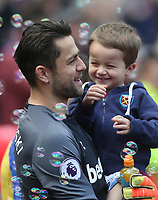 West Ham United's Lukasz Fabianski<br /> <br /> Photographer Rob Newell/CameraSport<br /> <br /> The Premier League - West Ham United v Southampton - Saturday 4th May 2019 - London Stadium - London<br /> <br /> World Copyright © 2019 CameraSport. All rights reserved. 43 Linden Ave. Countesthorpe. Leicester. England. LE8 5PG - Tel: +44 (0) 116 277 4147 - admin@camerasport.com - www.camerasport.com
