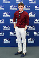 Eddie Redmayne attends the photocall for the movie 'The Danish Girl' during 72nd Venice Film Festival at the Palazzo Del Cinema in Venice, Italy, September 5, 2015. <br /> UPDATE IMAGES PRESS/Stephen Richie