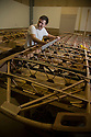 """13/03/16 <br /> <br /> Kristen Dodds learns how to built wings for vintage aircraft.<br /> <br /> <br /> .National Apprenticeship Week: Could this be the best apprenticeship in the UK?<br /> <br /> Full story here:<br /> http://www.fstoppress.com/articles/apprentice_pilot/<br /> <br /> .FOR as long as he can remember Kristen Dodds has dreamed of becoming a pilot and now, thanks to """"the best apprenticeship ever"""", he is well on the way to making his dream come true.<br /> <br /> But it's an apprenticeship with a difference, as he is learning the trade in a 70-year-old Tiger Moth biplane.<br /> <br /> And, at the end of his three-year apprenticeship, Kristen will be a fully qualified commercial pilot.<br /> <br /> What's more, the 20-year-old bagged himself the unique opportunity purely by chance.<br /> <br /> (National Apprenticeship Week runs from Monday, March 14 until Friday, 18.)<br /> All Rights Reserved: F Stop Press Ltd. +44(0)1335 418365   +44 (0)7765 242650 www.fstoppress.com"""