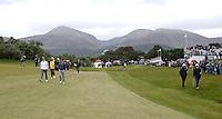 27 May 2015; Rory McIlroy strides down the first fairway.<br /> <br /> Dubai Duty Free Irish Open Golf Championship 2015, Pro-Am. Royal County Down Golf Club, Co. Down. Picture credit: John Dickson / DICKSONDIGITAL