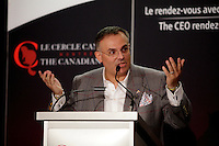 February 3rd, 2014 - Vincenzo Guzzo, Chief Operating Officer & Executive Vice-President of Cinemas Guzzo inc., deliver a speech to the Canadian Club of Montreal/