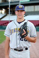 September 10, 2009: Dusty Odenbach of the Burlington Bees. The Bees are the Midwest League affiliate for the Kansas City Royals. Photo by: Chris Proctor/Four Seam Images