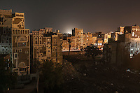 Sunday 12 July, 2015: An historial site of residential tower-houses obliterated by a bomb are seen after they were targeted, accordingly with witnesses, by a fighter jet of the Saudi-led coalition in the old city of Sana'a last June 12, 2015. Five residents were killed and four house-buildings reduced to rubble during the early-morning attack that endangered the 2,500-year-old cultural heritage site. The attack, condemned by the international community, is part of the campaign of bombardments by the coalition of Arab states and their westerns allies led by Saudi Arabia to tackle the Houthi insurgency that removed from power to the former president Abd Rabbuh Mansur Hadi. (Photo/Narciso Contreras)
