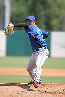 March 16th 2008:  Nelson Figueroa of the New York Mets during a Spring Training game at Osceola County Stadium in Kissimmee, FL.  Photo by:  Mike Janes/Four Seam Images