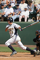 June 5, 2010: Jared Humphreys of Kent State during NCAA Regional game against UC Irvine at Jackie Robinson Stadium in Los Angeles,CA.  Photo by Larry Goren/Four Seam Images