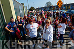 The Causeway suporters wait for the gates to open before the Kerry County Senior Hurling Championship Final match between Kilmoyley and Causeway at Austin Stack Park in Tralee