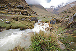 .Rio Blanco at the head of the valley, ..