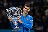 NOVAK DJOKOVIC and KEI NISHIKORI - Barclays ATP World Tour - 15/11/2015