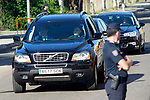 President of Government of Spain Mariano Rajoy arrives to National Audience to testify in 'Gurtel Plot' at San Fernando de Henares in Madrid, July 26, 2017. Spain.<br /> (ALTERPHOTOS/Acero)
