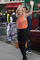 Britain's Got Talent in Edinburgh. Pictured Amanda Holden..Picture: Pavol Mraz/Universal News And Sport (Scotland). 11/ February 2012.