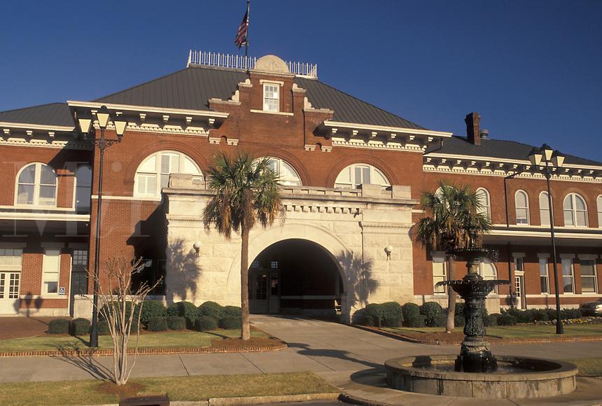 train station, Georgia, Columbus, GA, Train depot in Columbus.