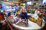 Open Christmas Eve, Miss Joy, has owned and operated Bo Lynn's Grocery in St Marks, Florida for 56 years of her 86 years.  She has lived in the back as she operated the store which was listed on the National Register of Historic Places in 2017.