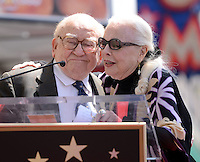 Barbara Bain + Ed Asner @ her Walk of Fame ceremony held @ 6767 Hollywood blvd.<br /> April 28, 2016