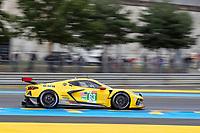 #63 Corvette Racing Chevrolet Corvette C8.R LMGTE Pro, Antonio Garcia, Jordan Taylor, Nicky Catsburg, 24 Hours of Le Mans , Free Practice 1, Circuit des 24 Heures, Le Mans, Pays da Loire, France
