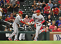 MLB: Los Angeles Angels vs Texas Rangers