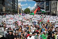 """09.08.2014 - """"National Demonstration for Gaza - #GazA9"""""""