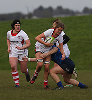 Sunday 3rd December 2017; Ulster Women vs Leinster Women<br /> <br /> Hannah Beattie during the Women's Inter-Pro between Ulster and Leinster at Dromore RFC, Barbon Hill, Dromore, County Down, Northern Ireland. Photo by John Dickson / DICKSONDIGITAL