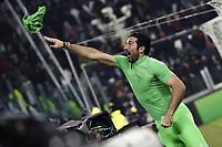Gianluigi Buffon<br /> Torino 28-02-2018 Allianz Stadium Calcio Coppa Italia Tim Cup Juventus - Atalanta foto Image Sport/Insidefoto