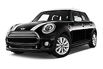 Stock pictures of low aggressive front three quarter view of a 2015 MINI Mini Cooper 5 Door Hatchback 2WD Low Aggressive