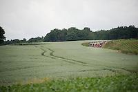 peloton in the Limburg landscape<br /> <br /> stage 3: Buchten-Buchten (190km)<br /> 29th Ster ZLM Tour 2015