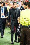 Atletico de Madrid's coach Diego Pablo Simeone during match of UEFA Champions League at Vicente Calderon Stadium in Madrid. September 28, Spain. 2016. (ALTERPHOTOS/BorjaB.Hojas)