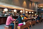 Deutschland, Oberbayern, Landkreis Miesbach, Irschenberg: Verkaufsraum und Café der Dinzler Kaffeeroesterei AG | Germany, Upper Bavaria, Irschenberg: Dinzler Kaffeeroesterei AG , coffee roasting plant with sales room and café