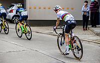 World Champion Anna van der Breggen (NED/Boels-Dolmans)<br /> <br /> 17th Ronde van Vlaanderen 2020<br /> Elite Womens Race (1.WWT)<br /> <br /> One Day Race from Oudenaarde to Oudenaarde 136km<br /> <br /> ©kramon