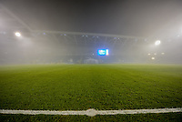Friday's Championship game between leaders Brighton & Hove Albion and Cardiff City has been postponed because of heavy fog. Sky Bet Championship match between Brighton and Hove Albion and Cardiff City at the American Express Community Stadium, Brighton and Hove, England on 30 December 2016. Photo by Edward Thomas / PRiME Media Images.