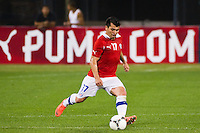 Gary Medel (17) of Chile. Ecuador defeated Chile 3-0 during an international friendly at Citi Field in Flushing, NY, on August 15, 2012.