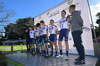 Kinan team. The opening ceremony of the NZ Cycle Classic UCI Oceania Tour at Queen Elizabeth Park in Masterton, New Zealand on Tuesday, 14 January 2020. Photo: Dave Lintott / lintottphoto.co.nz