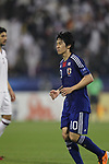 Japan vs Qatar during their AFC Asian Cup 2011 Quarter Finals match at Al-Gharafa Stadium on 21 January 2011, in Doha, Qatar. Photo by Stringer / World Sport Group