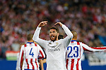 Real Madrid´s Sergio Ramos during quarterfinal first leg Champions League soccer match at Vicente Calderon stadium in Madrid, Spain. April 14, 2015. (ALTERPHOTOS/Victor Blanco)