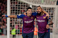 FC Barcelona's XXX and Real Madrid's XXX during La Liga match between FC Barcelona and Real Madrid at Camp Nou Stadium in Barcelona, Spain. October 28, 2018. (ALTERPHOTOS/A. Perez Meca)<br /> Barcelona 28-10-2018 Camp Nou <br /> Barcellona - Real Madrid <br /> Liga Campionato Spagna 2018/2019<br /> Foto Perez Meca / Alterphotos / Insidefoto <br /> ITALY ONLY