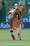 NED - Amsterdam, Netherlands, August 20: During the women Pool B group match between Germany (white) and England (red) at the Rabo EuroHockey Championships 2017 August 20, 2017 at Wagener Stadium in Amsterdam, Netherlands. Final score 1-0. (Photo by Dirk Markgraf / www.265-images.com) *** Local caption *** Hanna Granitzki #30 of Germany
