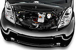 Car Stock 2016 Citroen C-Zero Confort 5 Door Micro Car Engine  high angle detail view