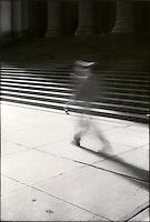 Blurred figure<br />