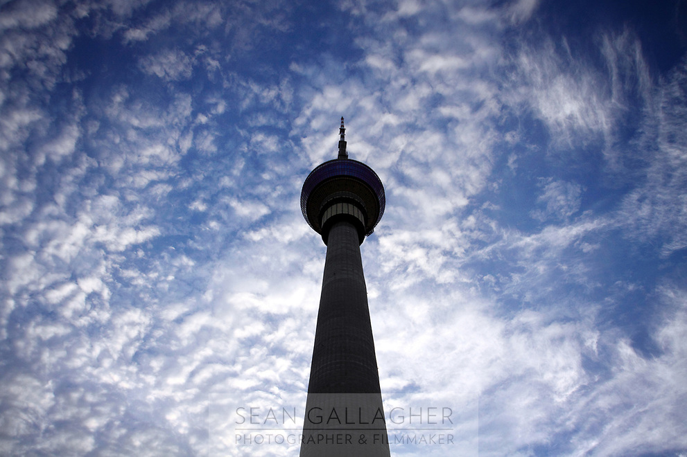 CHINA. Beijing. The CCTV communications tower in west Beijing. <br /> 2009
