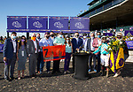 November 7, 2020 : Connections for Whitmore, winner of the Sprint on Breeders' Cup Championship Saturday at Keeneland Race Course in Lexington, Kentucky on November 7, 2020. Bill Denver/Breeders' Cup/Eclipse Sportswire/CSM