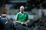 Heineken Cup - Ospreys v Treviso - Liberty Stadium - Swansea - UK - 12th October 2012 :                .Match referee Neil Paterson (Scotland).