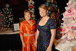 Chairs Mary Rothwell and Kelley Lubanko at the Trees of Hope Gala benefitting Star of Hope children's programs at the HIlton Americas Hotel Friday Nov. 20,2009. (Dave Rossman/For the Chronicle)